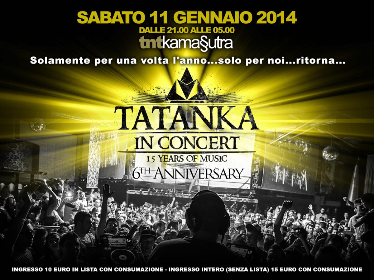 tatanka in concert fronte