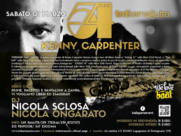 01.03.2014 Kenny Carpenter Retro